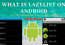 What is LazyList on android