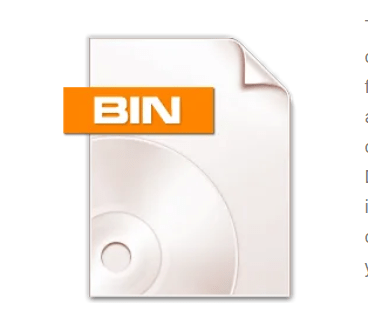 how to open a bin file on Android