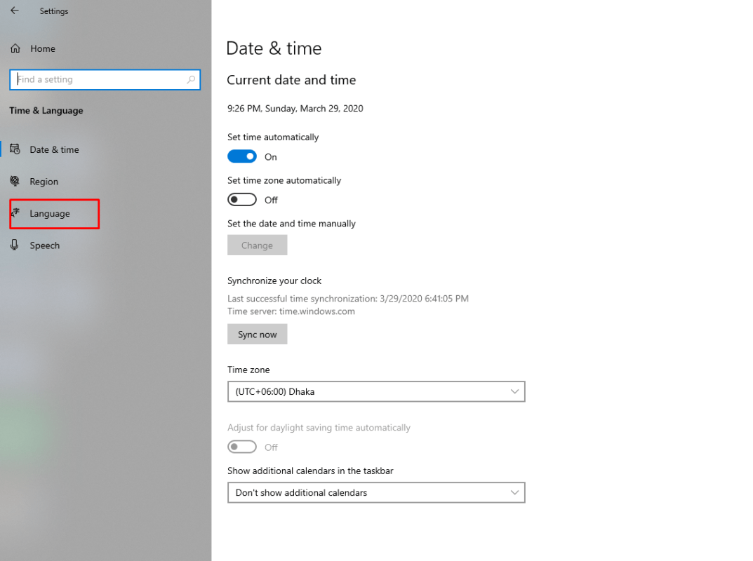 How to add Chinese keyboard to windows 10?