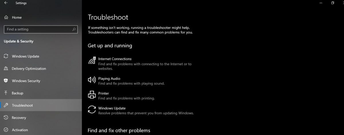 Solution 3: Run Windows Update Troubleshooter