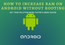 How to increase ram on android without rooting