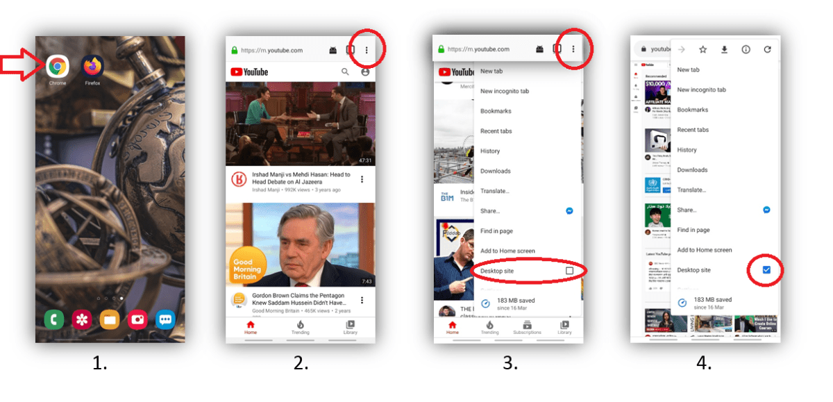 How to play YouTube on lock screen android
