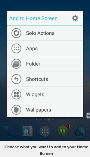 How to restore deleted icons on android