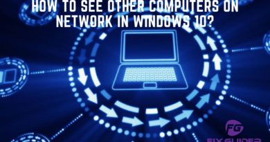How to See Other Computers on Network in Windows 10.