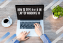 How to type ñ in laptop windows 10