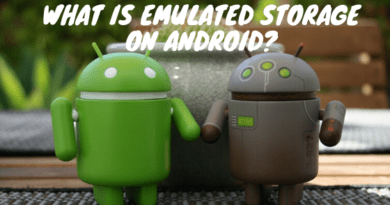 What is Emulated Storage on Android