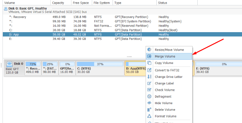 How to Merge Partitions Windows 10