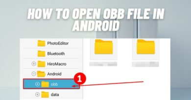 How to Open OBB File in Android