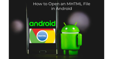 How to Open an MHTML File in Android
