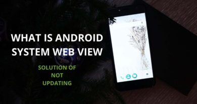 What is Android System Web View